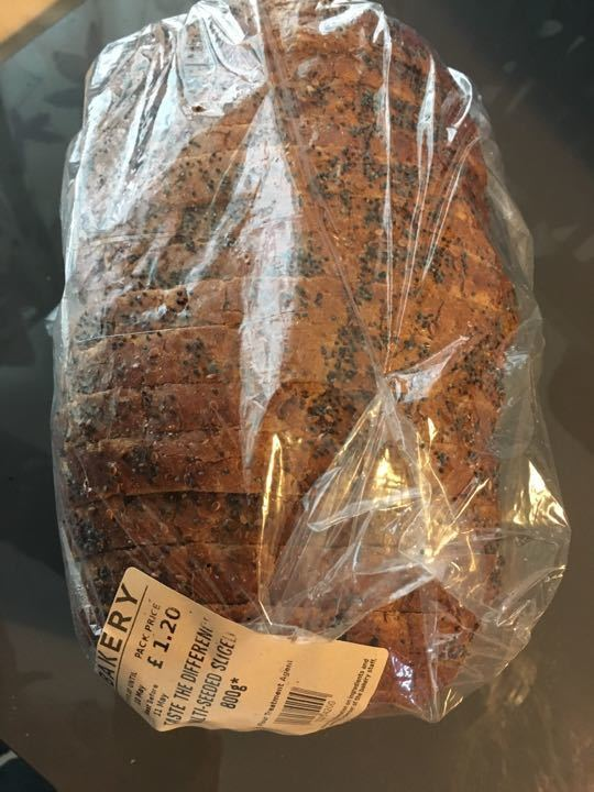 Bread multi seeded sliced X 1