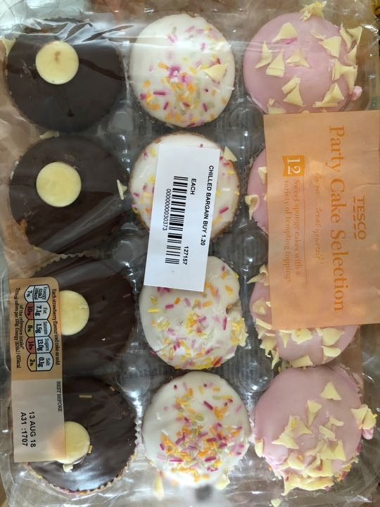 Party cupcake selection