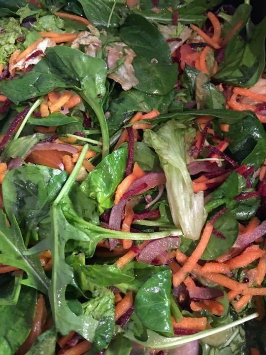Mixed salad NUDE FOOD