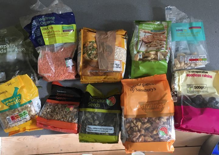 Out of date pulses and nuts