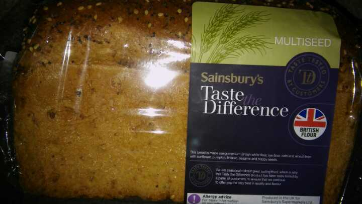 Multiseed loaf (taste the difference)