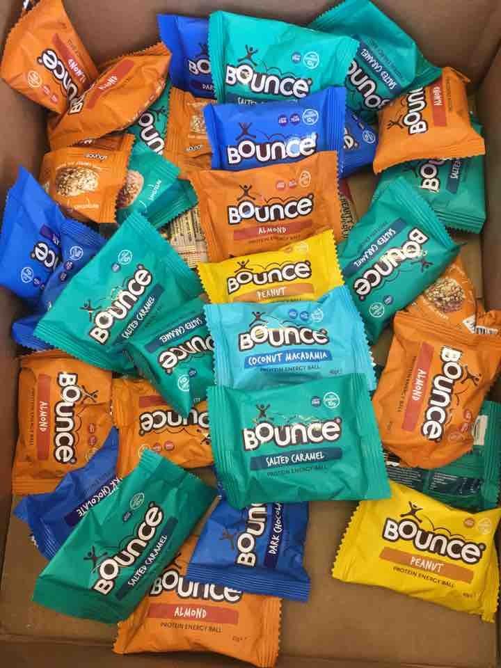Bounce balls - various flavours