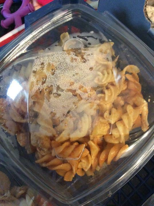 Chicken tikka pasta