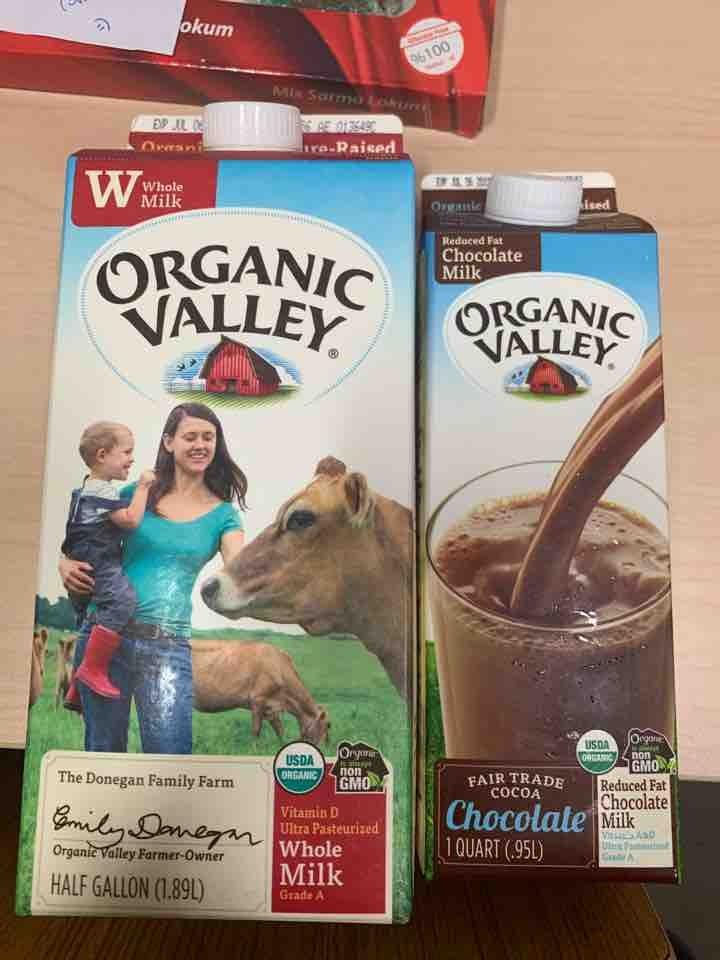 Milk to give away