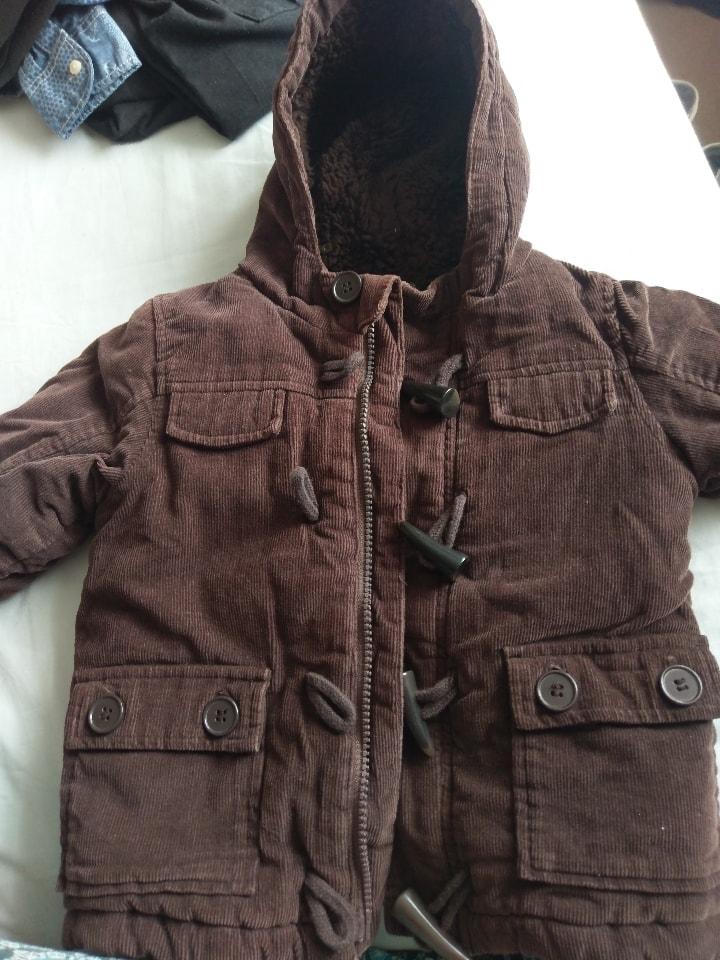 Brown coat 18-24 months