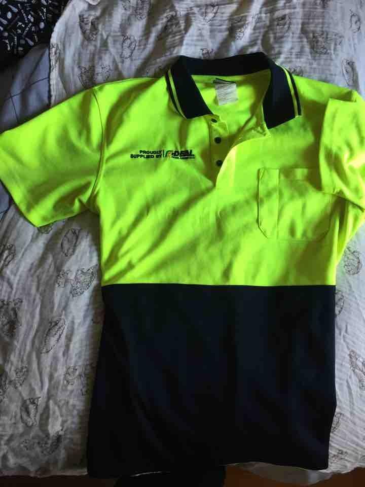 XL Hi Vis ideals shirt