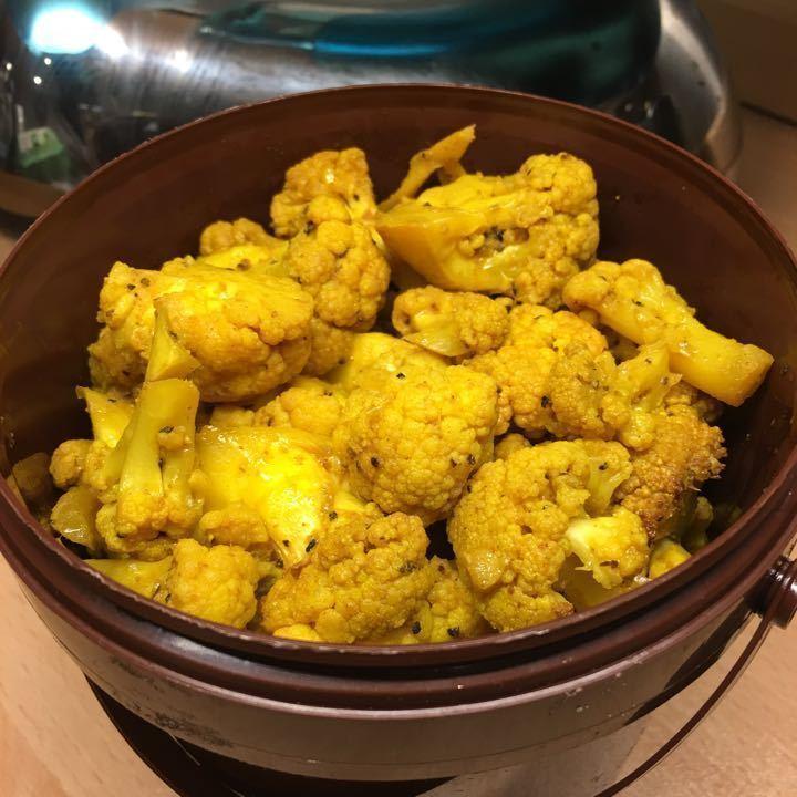 Roasted Turmeric Cauliflower from Deli
