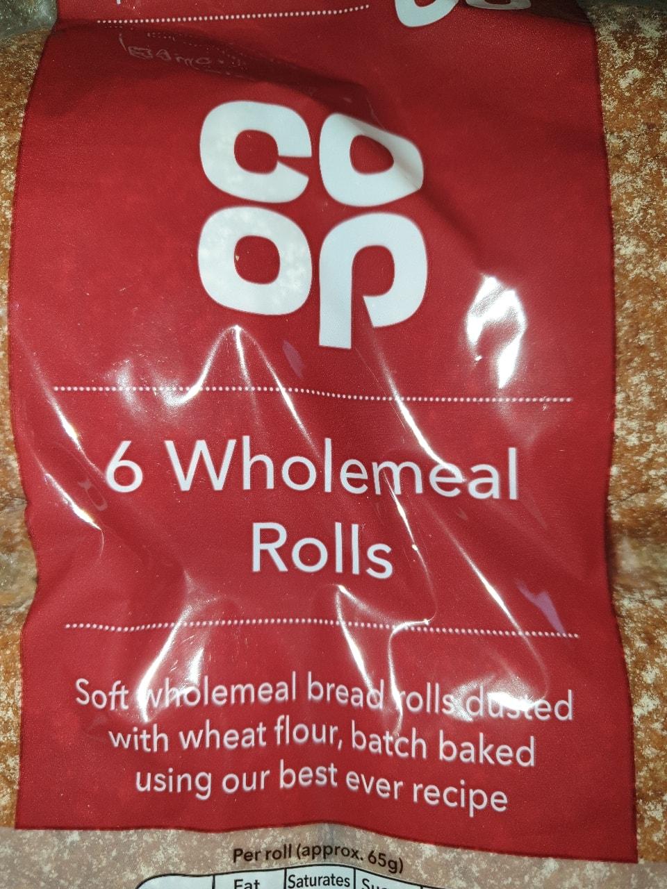 Brown soft rolls