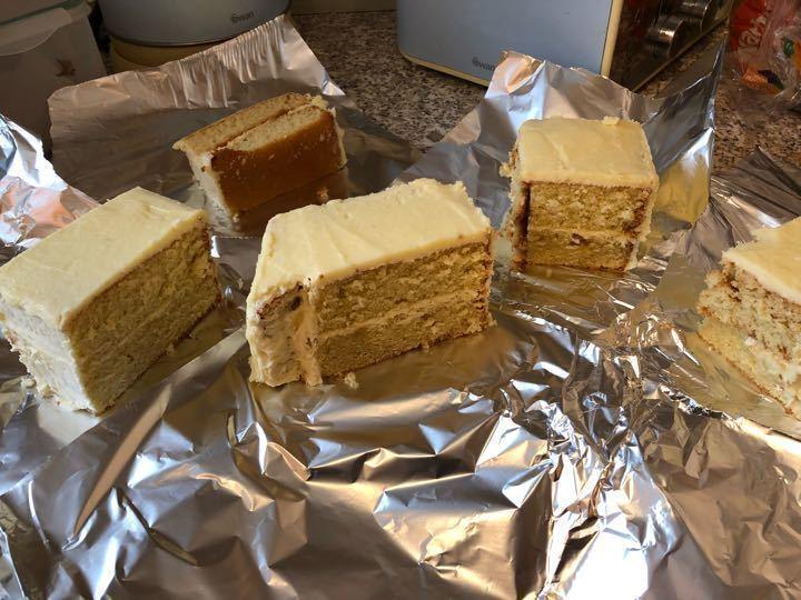 Chunk of cake! 😝