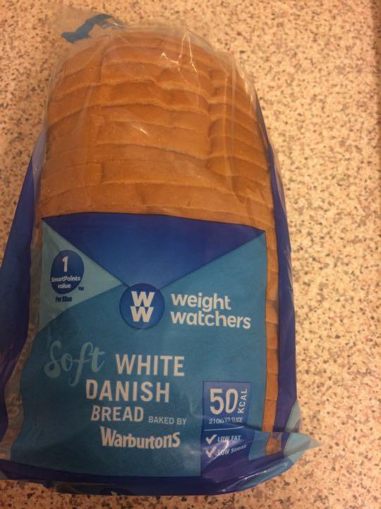 Weight watches white danish bread X 4