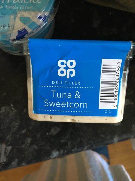 Tuna & sweet corn
