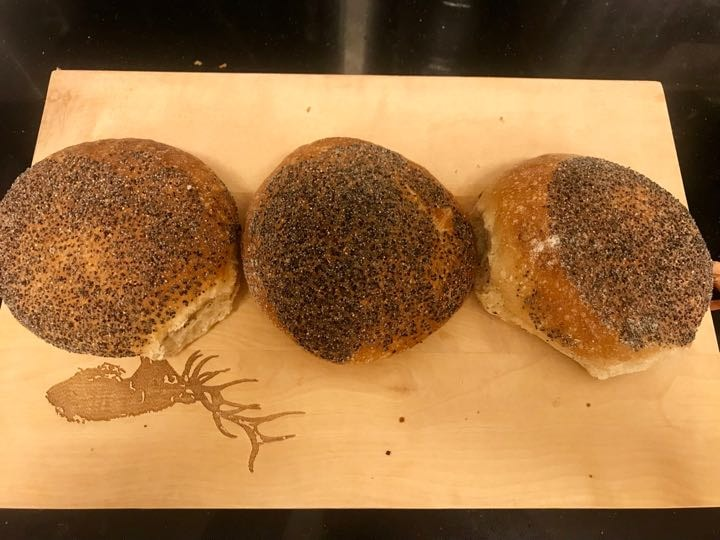 Fresh buns from Pesso (18/02)