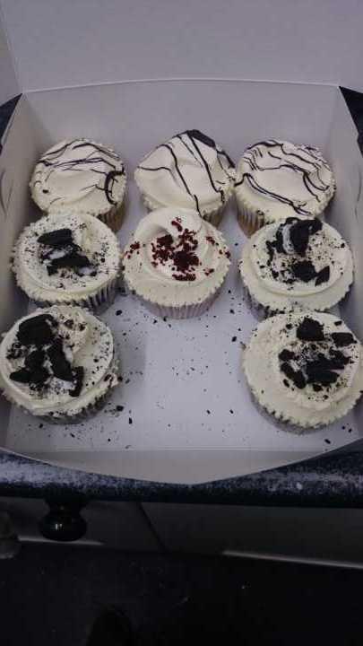 Mixed box of cupcakes Angel Food Bakery