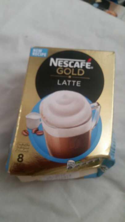 Nescafe latte from Coop