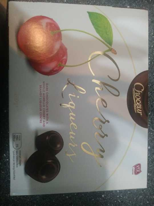 Cherry liquors chocolates