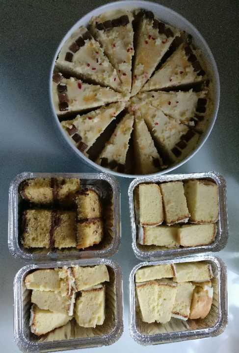 Assorted homemade cakes