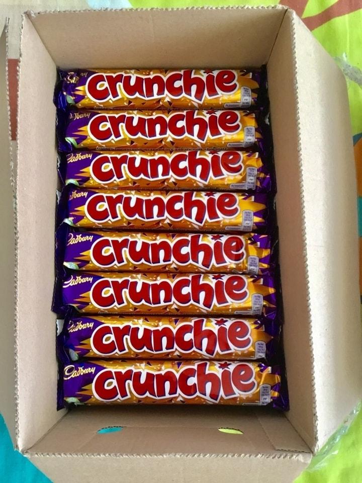 Crunchier bars x 16