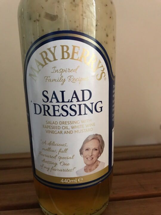 Mary Berry Salad Dressing unopened