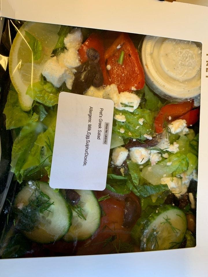 X1 pret greek salad