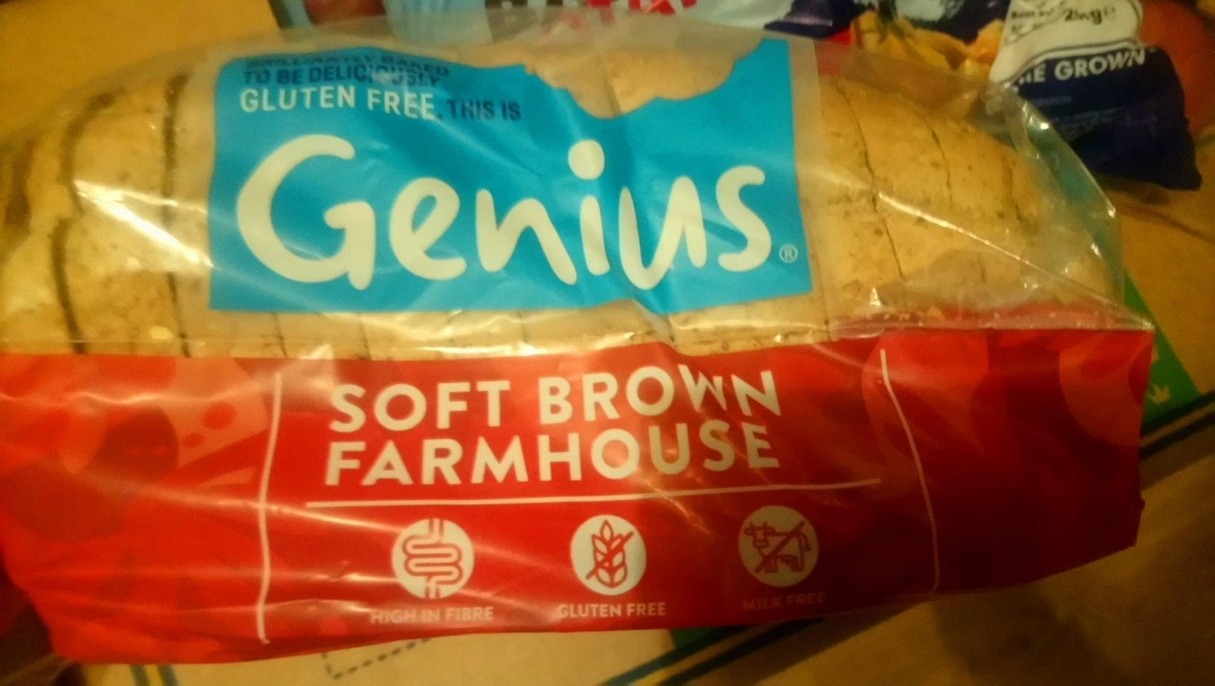 Genius soft brown sliced