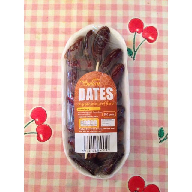 Pack of dates