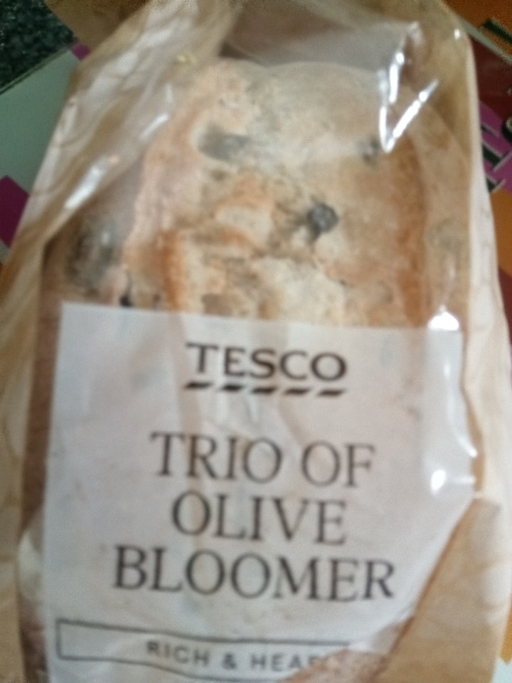 Tesco-Trio of Olive Bloomer
