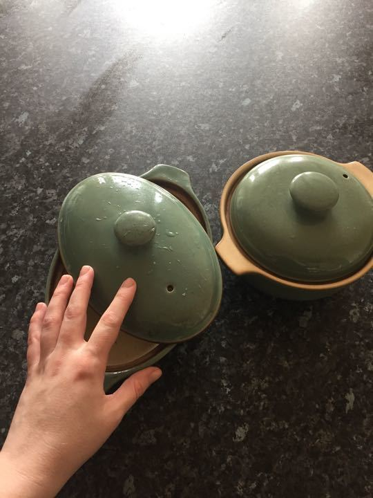 2 Denby dishes