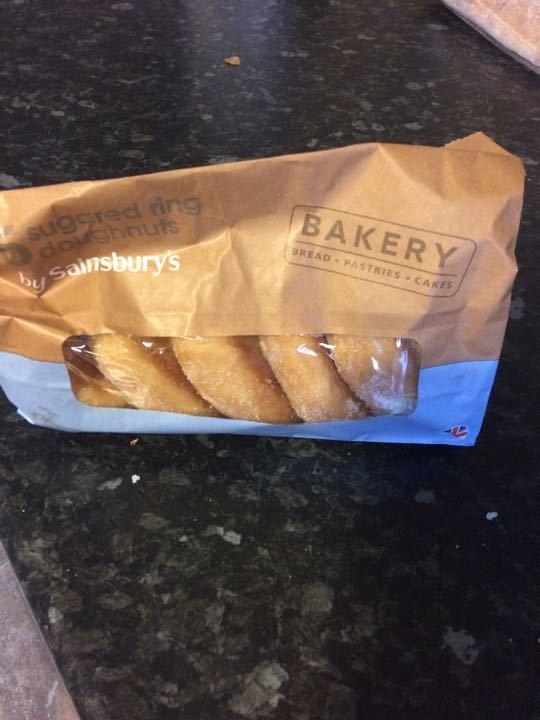 Sugar ring donuts x 2 packs