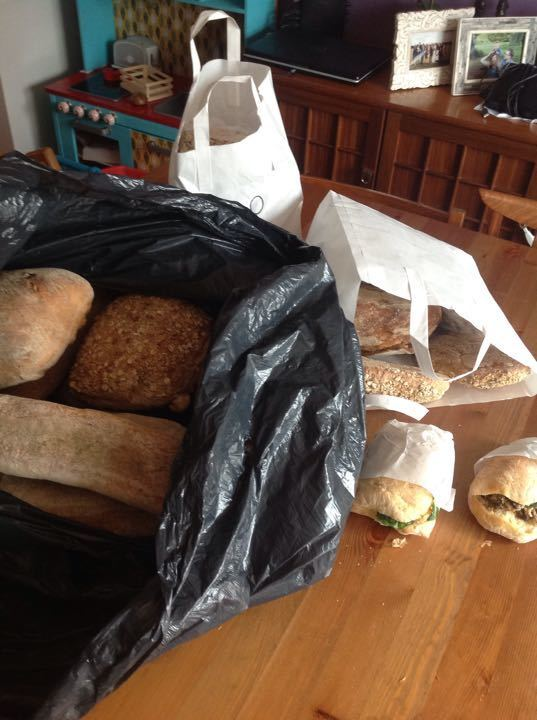 Loads of bready bready bread from the bakery!