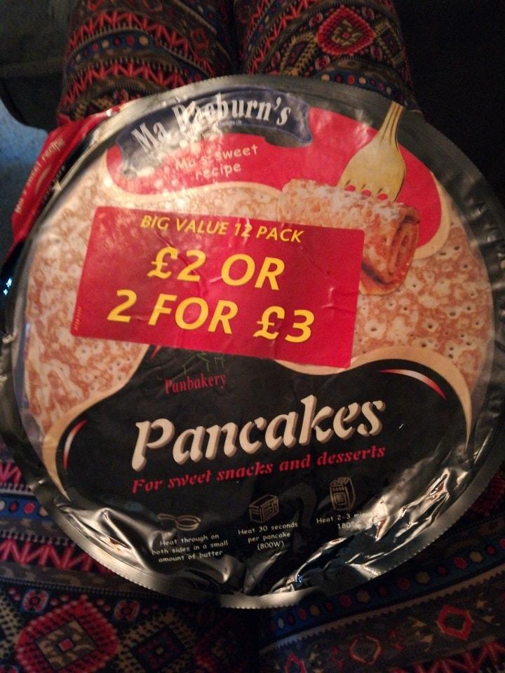 Ma Raeburns pancakes 🥞