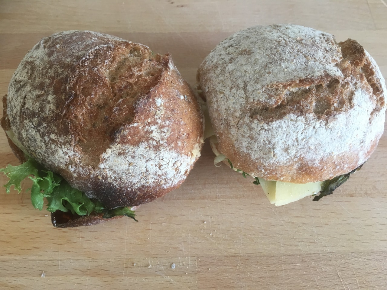 Vegetarian sandwiches from Fotografiska (21/8)