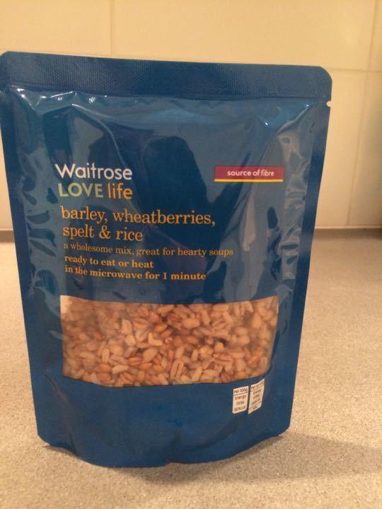 Waitrose super grains!