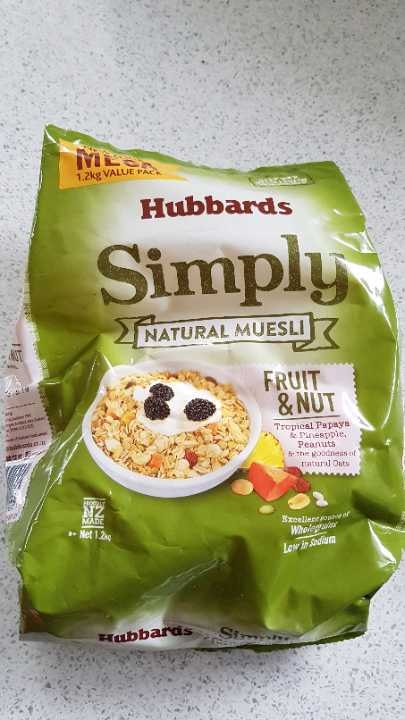 Hubbards Simply Natural Muesli