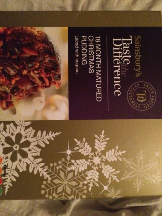 Taste the Difference Xmas Pud