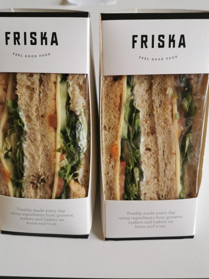 Friska sandwiches (vegan)