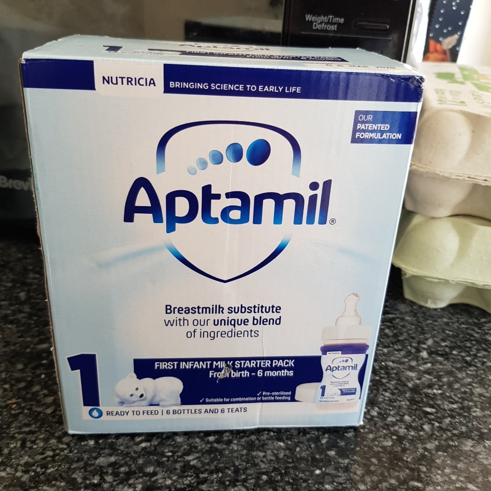 Baby formula with bottles unopened
