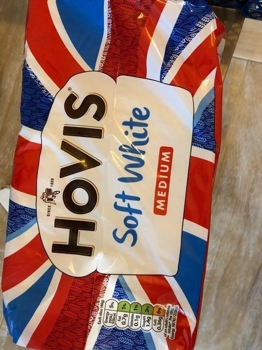 Hovis white bread