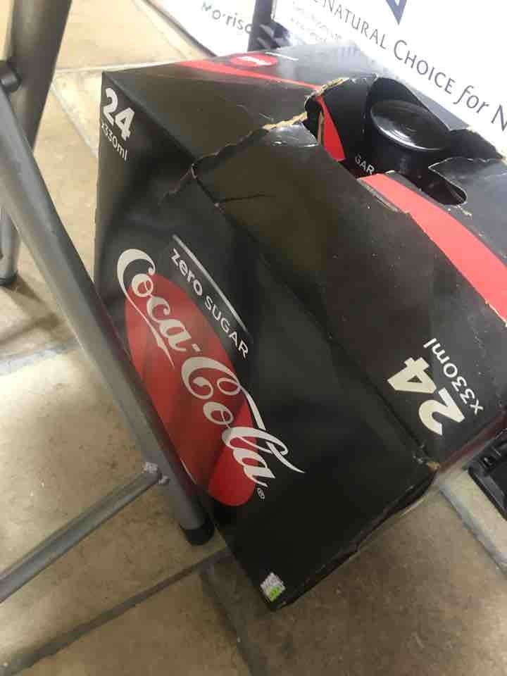 Coke Zero - 6 cans per person