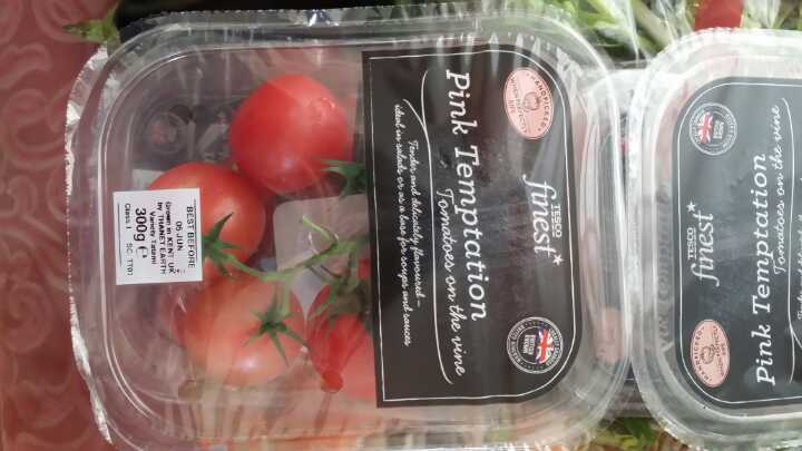 Pink temptation tomatoes