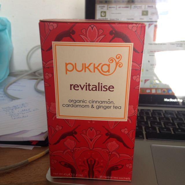 Pukka revitalise tea, 14 sachets