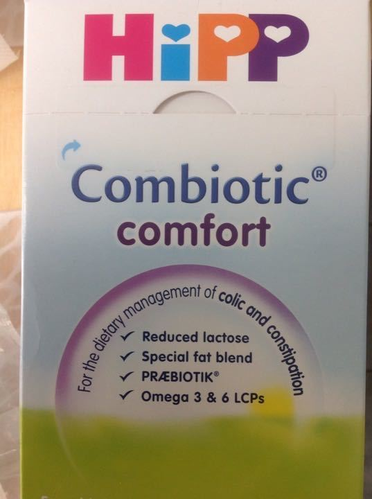 Hipp combiotic comfort 3 packs and half 800g each
