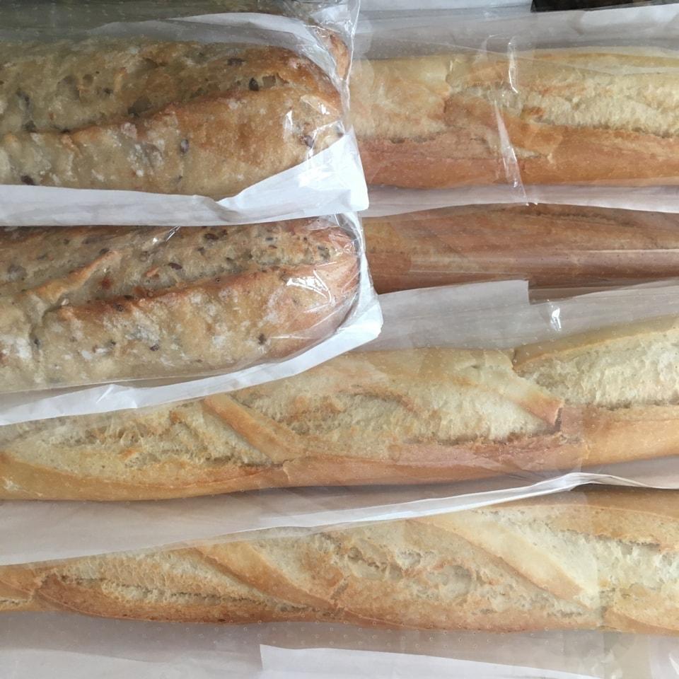 Pret baguettes (Plain, no fillings)