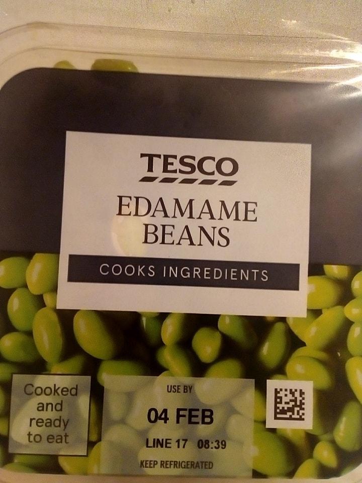 Tesco Edamame Beans