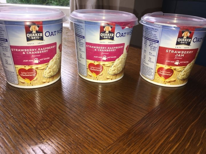 Oat-so-simple, two flavours