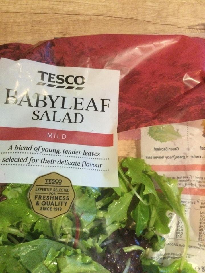 Babyleaf salad
