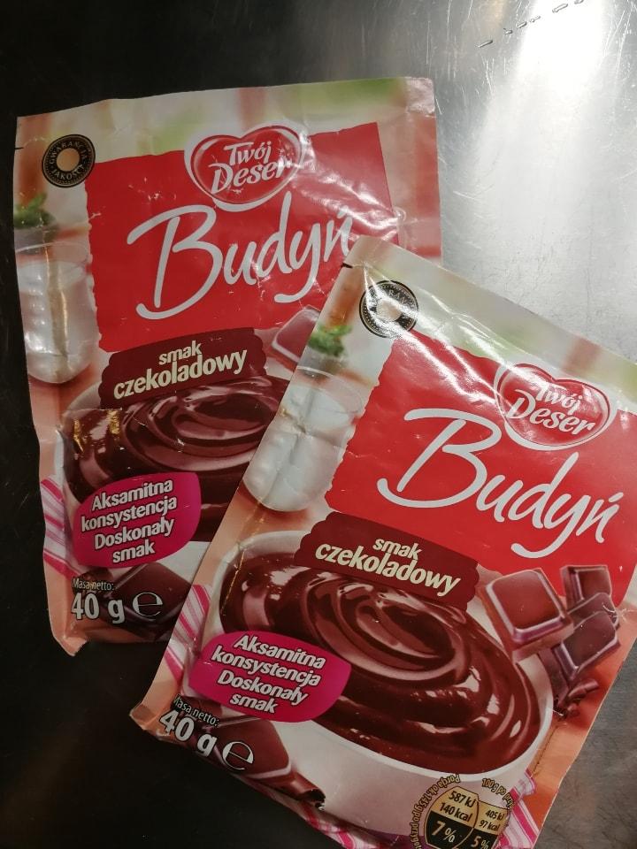 Chocolate pudding powder
