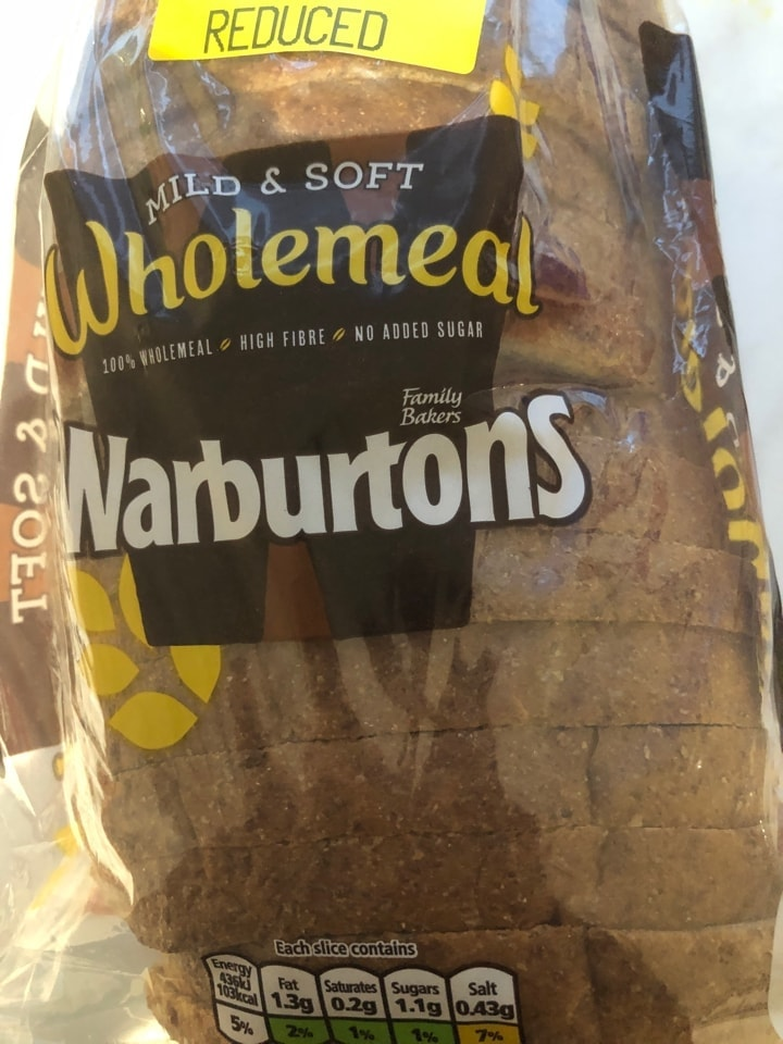 Brown wholemeal