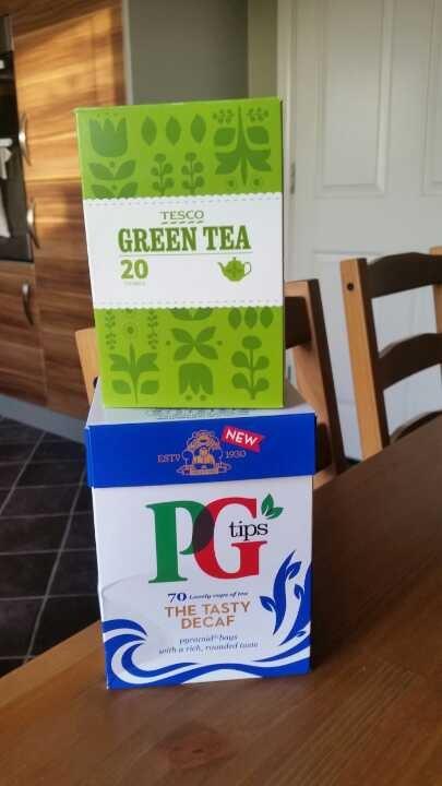 Opened Teas