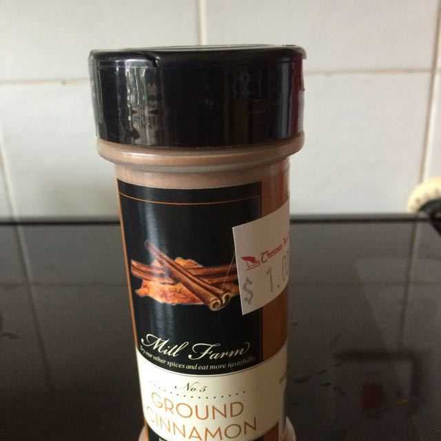More ground cinnamon