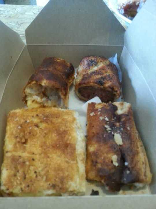 Savoury pastries!